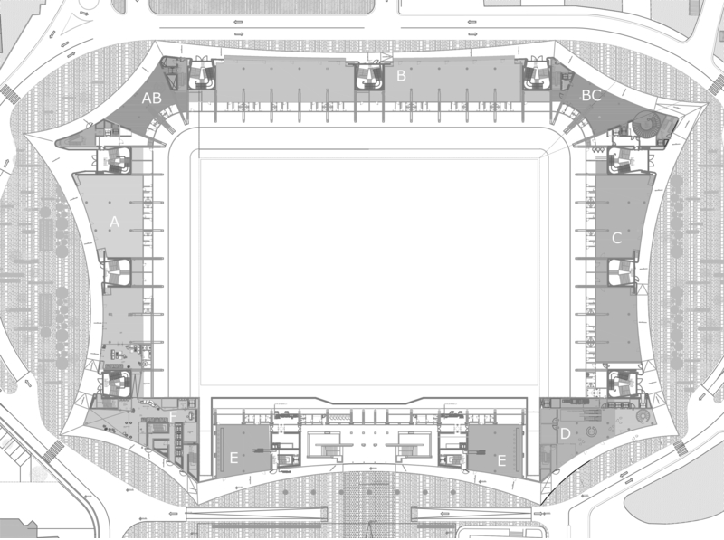 Arena Center Floor Plan